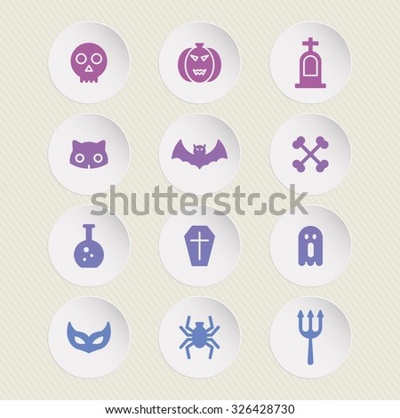 a set of vector icons for