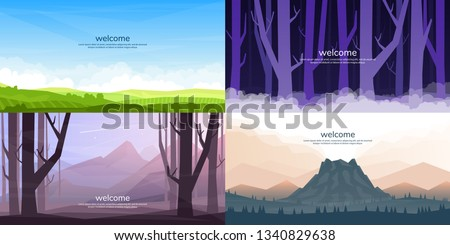 a set of vector landscapes in a