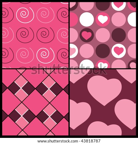a set of 4 vector patterns for