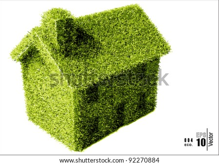 A Simple Grass Covered House