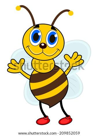a single bee