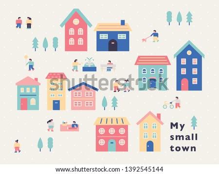 a small town concept