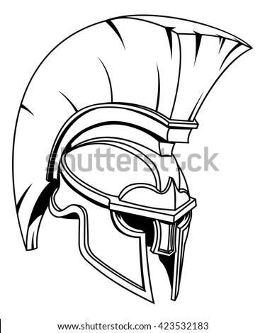 a spartan  trojan or roman