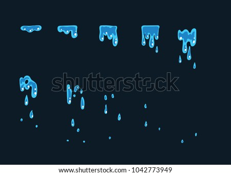 a sprite sheet  a water trap  a