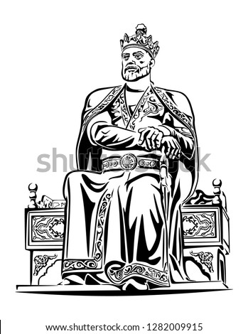 a statur of amir timur