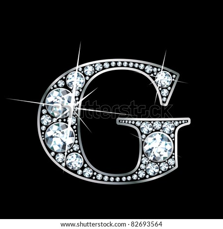 h alphabet in diamond  stunningly beautiful