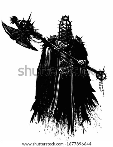 a terrible ghost executioner