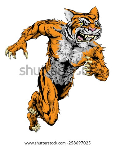 a tiger man character or sports