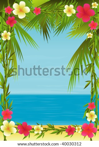 Tropical Holiday By Bibidesign