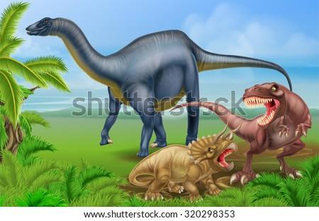 a tyrannosaurus rex or t rex