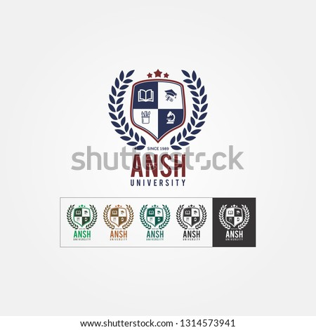 A University, School and Collage logo