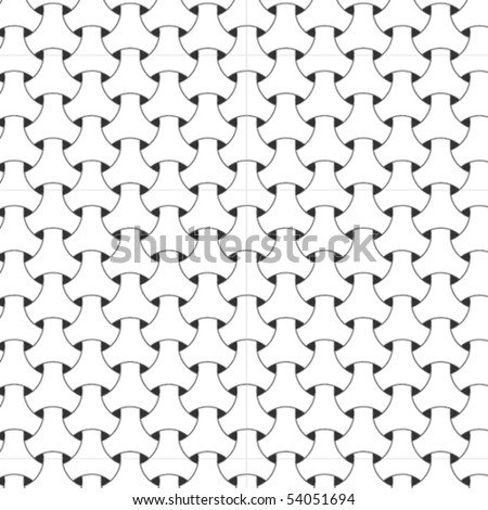 A vector, black and white pattern