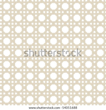 A vector, black and white tile pattern.