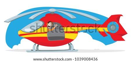 a vector cartoon representing a