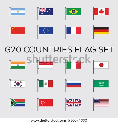 a vector collection of the g20