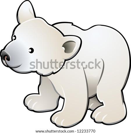 Oso polar divertido - Descargue Gráficos y Vectores Gratis