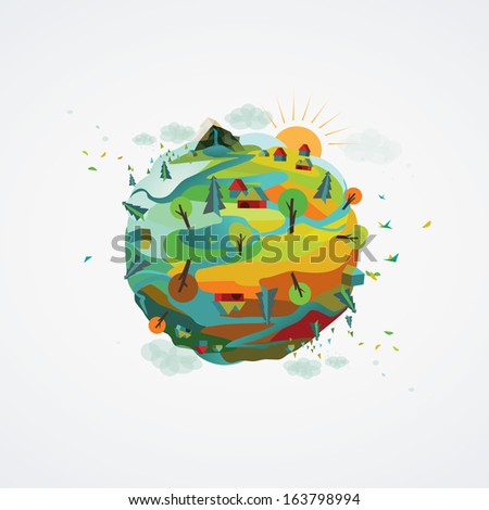a vector illustration of a