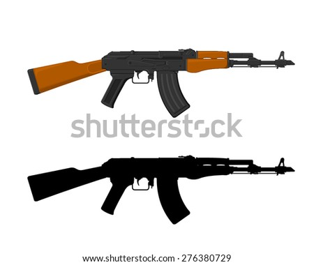 ak 47 - download free vector art, stock graphics & images