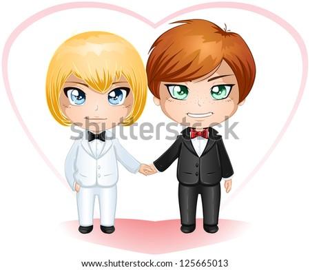 a vector illustration of gay
