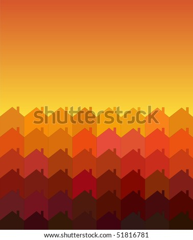 stock-vector-a-vector-illustration-of-rows-of-houses-with-space-for-text-warm-shades-suggesting-sunrise-sunset-51816781.jpg