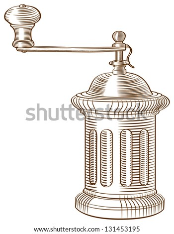 a vector image of an old