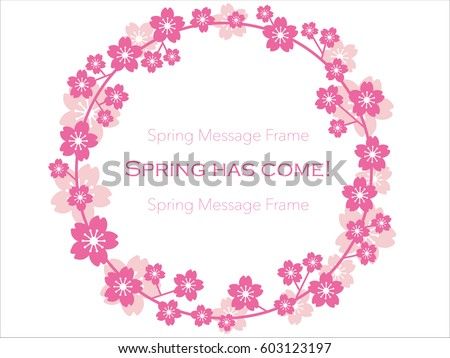 a vector message frame