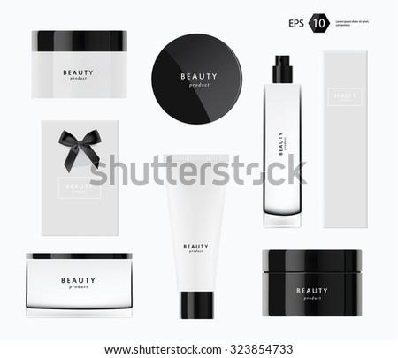 a vector modern beauty package
