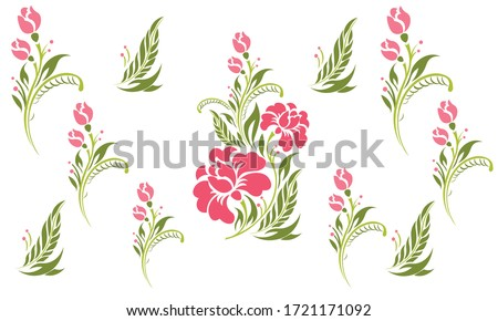 A vector seamless of floral flower pattern.
