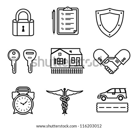 a vector set of various...