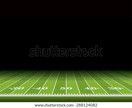 a view from the sideline of an