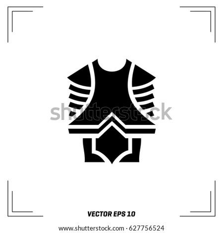 a viking's body shield on a