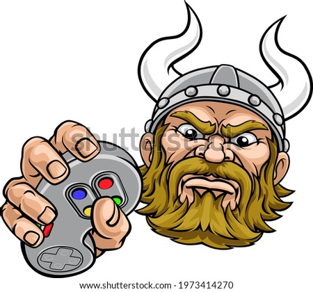 a viking warrior or barbarian