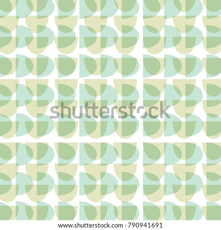 a vintage retro absract pattern
