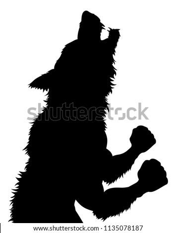 a werewolf or wolfman halloween