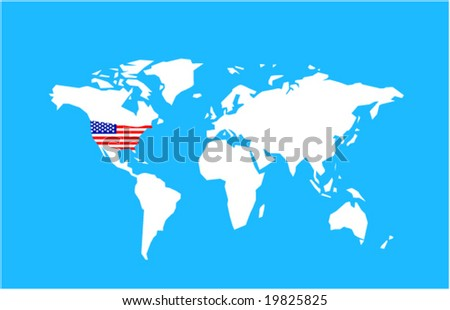 Time Zones Of US Map Download Free Vector Art Stock Graphics - Us map free vector