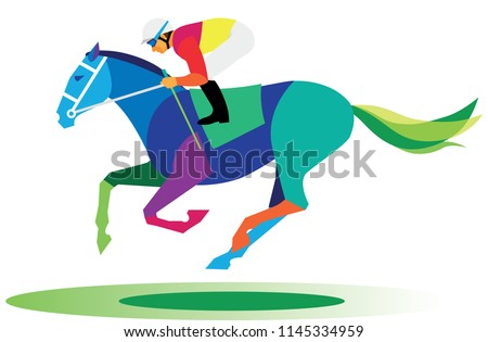 a young lean athlete is a jockey rider who participates in horseraces