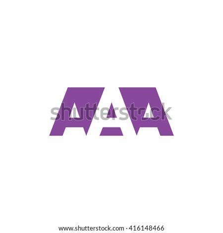 aaa logo vector graphic
