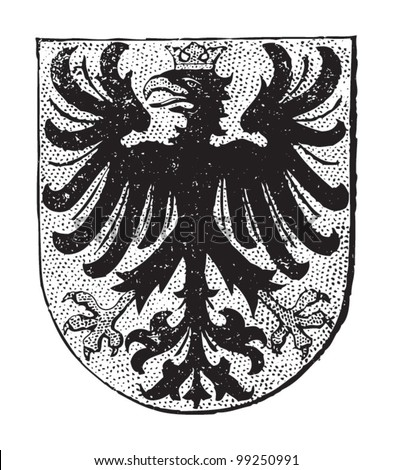 aachen coat of arms  city in...