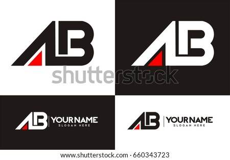 AB logo for your business