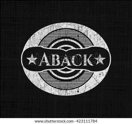 Aback chalk emblem