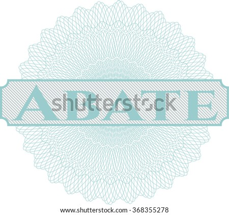 Abate abstract linear rosette