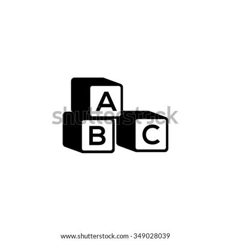 Abc cubes sign