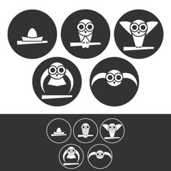 Ability Levels - Illustration of different skill levels from beginner to expert