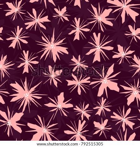 absract floral vector seamless