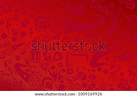 absract football red background