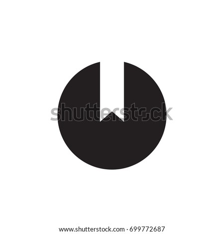 absract round logo vector