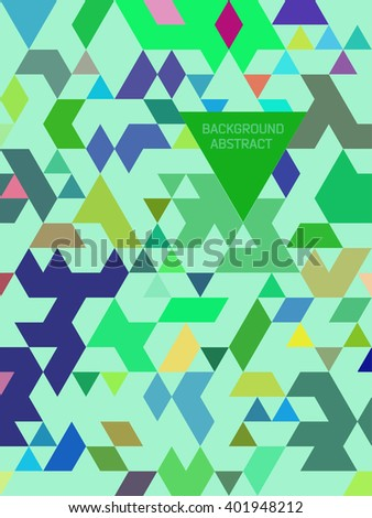 absract triangle background
