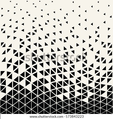 abstracet geometric halftone