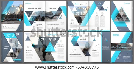 abstract a4 brochure cover
