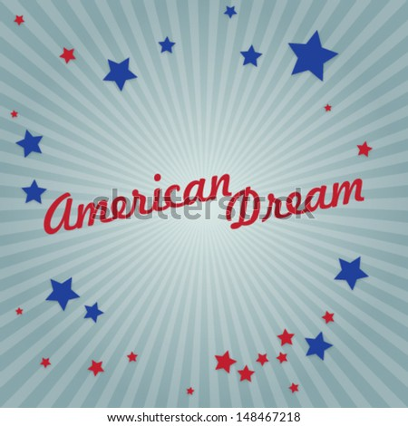 abstract american dream